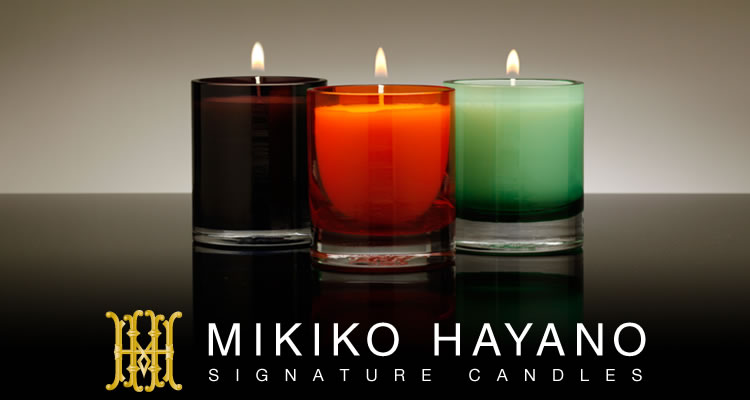 MIKIKO HAYANO - SIGNATURE CANDLES